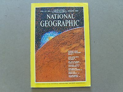 National Geographic Magazine - January 1980 - See Images For Contents