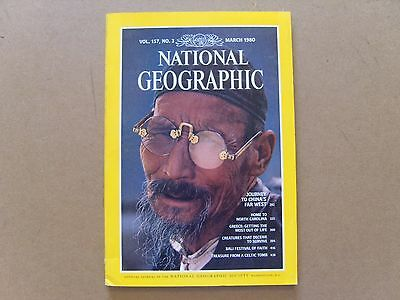National Geographic Magazine - March 1980 - See Images For Contents