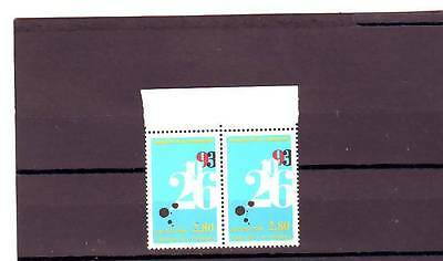 Andorra(French) - Sgf493 Mnh 1994 Meeting Of Co-Princes - Pair