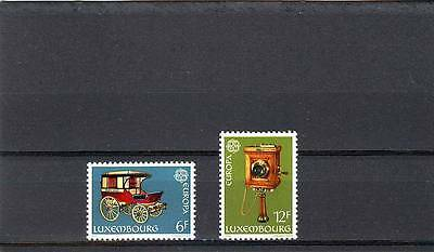 Luxembourg - Sg1024-1025 Mnh 1979 Europa - Stage Coach /old Wall Telephone