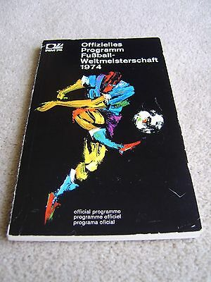 1974 World Cup Tournament Programme / Publication from West Germany