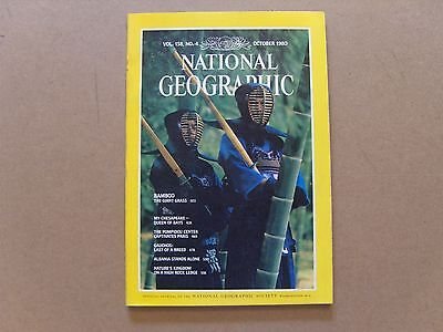 National Geographic Magazine - October 1980 - See Images For Contents