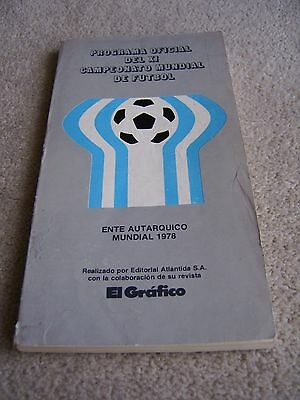 1978 World Cup Tournament Programme / Publication from Argentina