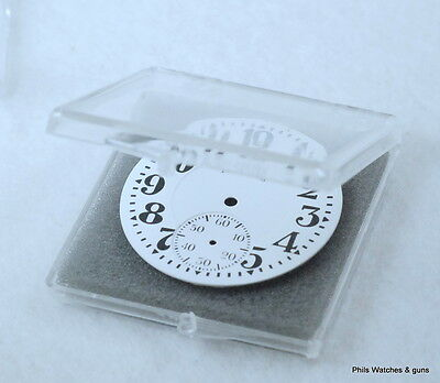 """25 Clear Pocket Watch Dial Boxes Holders Containers Protectors 2"""" X 2' X 1/4"""""""