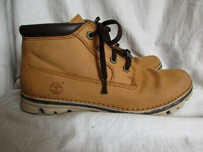 Brown leather ankle boots Size 6 by Timberland
