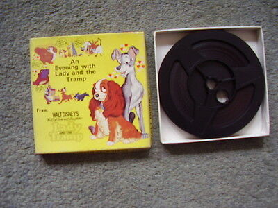 Super 8 film.Lady And The Tramp.Walt Disney extract.200ft.Sound