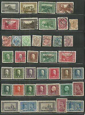 57 x DIFFERENT MIXED MINT & USED BOSNIA & HERZEGOVINA - 1879 / 1918 - 2 SCANS.