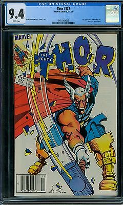 Thor 337 CGC 9.4 - White Pages