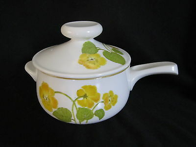 Noritake - FLOWER TIME 9072 - Fondue Pot With Lid - BRAND NEW