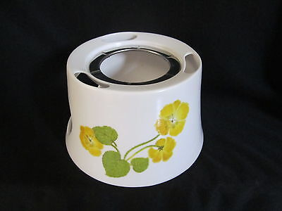 Noritake - FLOWER TIME 9072 - Fondue Warmer - BRAND NEW