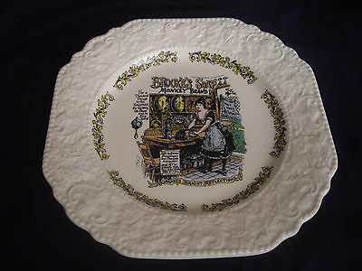 """Lord Nelson """"brook's Soap"""" Plate"""