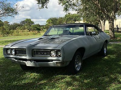 1968 Pontiac GTO  The One You Have Been Waiting For !!!    1968 GTO with Factory A/C  4 speed