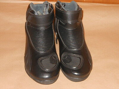 Ladies Ankle High Puma Motorcycle Boots Size 6.5 / 40