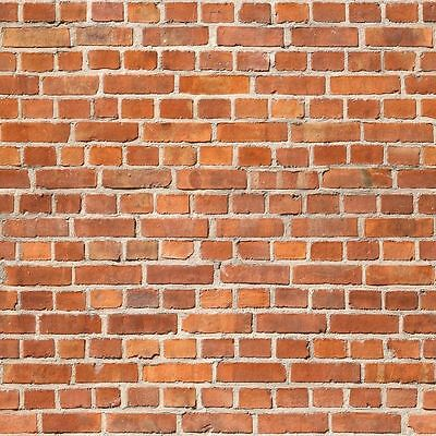 - 8 SHEETS SELF ADHESIVE PAPER BRICK wall 21x29cm 1 Gauge 1/32 CODE 6U8h8