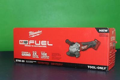 Milwaukee 2780-20 M18 FUEL 18V Cordless  4-1/2 in. - 5 in. Paddle Switch Grinder