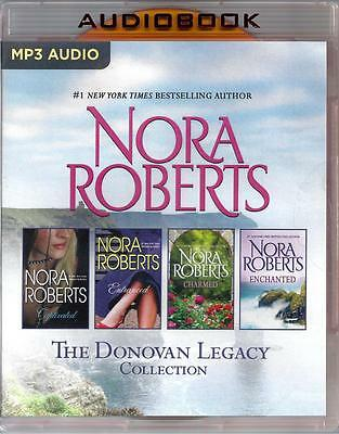 Nora Roberts The Donovan Legacy includes all 4 Unabridged MP3 Audio Books
