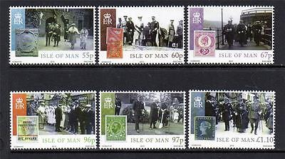 Isle Of Man Mnh 2010 Sg1591-1596 Centenary Of Accession Of King George V