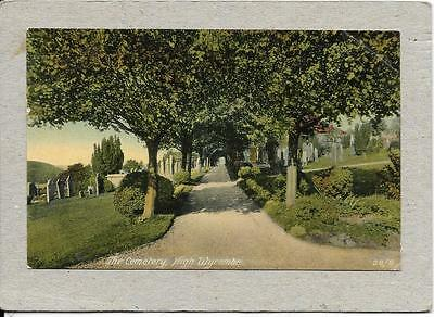 High Wycombe - The Cemetery - Buckinghamshire - Old Postcard
