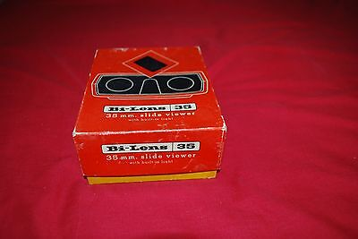 35 Mm Bi - Lens Slide Viewer In A Very Nice Original Box By Sawyers View Master