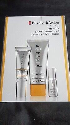 elizabeth arden prevage gift set inc city smart shield serum cleanser new boxed