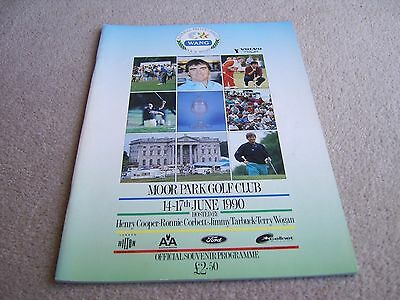 1990 National Pro-Celebrity Wang Four Stars Tournament programme, Moor Park