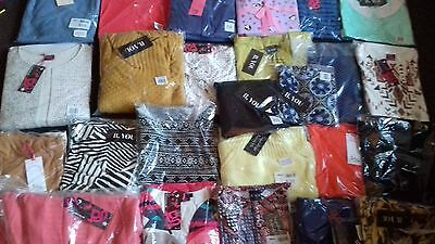 Joblot Wholesale of 30 BRAND NEW Famous Catalogue clothing !