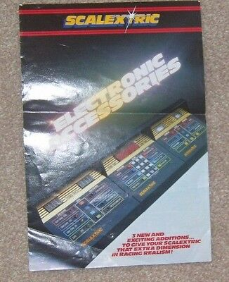 1980's Scalextric C451 electronic accessories catalogue