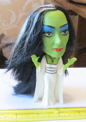 """OLD VINTAGE TV LILY THE MUNSTERS 5"""" Figurine REMCO 1964 KAYRO-VUE FIGURE TOY"""