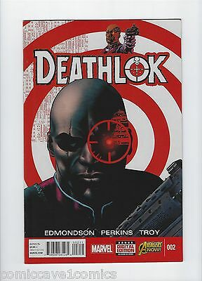 Deathlok #2 | 2014 Series | Near Mint- (9.2) | Marvel Comics