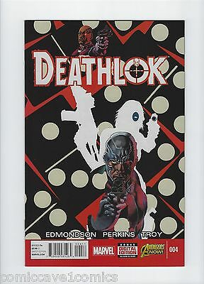 Deathlok #4 | 2014 Series | Near Mint- (9.2) | Marvel Comics