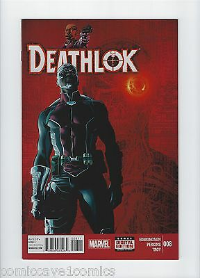 Deathlok #8 | 2014 Series | Near Mint- (9.2) | Marvel Comics