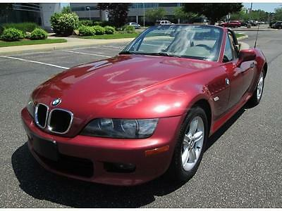 2001 BMW Z3 2.5i 2001 BMW Z3 Convertible 5 Speed Sport Only 86K Miles Rare Color Stunning Car