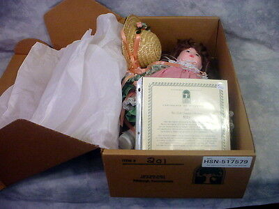 "PITTSBURGH ORIGINALS - Abby - 270030 - 19"" Doll - w/ Certificate 478/1000"