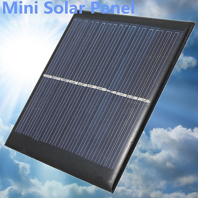 Mini 6V 1W/0.6W Solar Panel DIY For Cell Phone Chargers Portable Drop Shipping