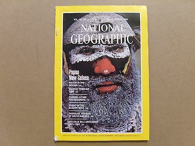 National Geographic Magazine - August 1982 - See Images For Contents