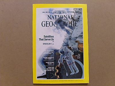 National Geographic Magazine - September 1983 - See Images For Contents