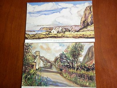 2 - Scottish Postcards - Artistic Impressions By C. John Taylor