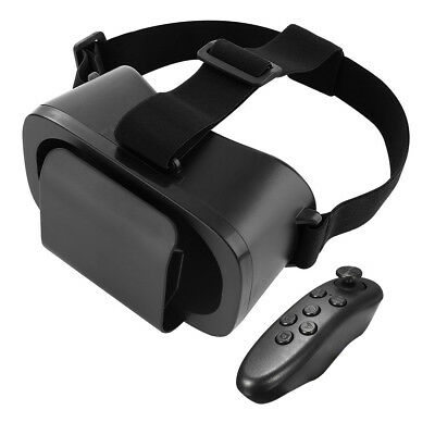 VR Headset Virtual Reality 3D Glasses With Remote for iPhone Samsung Android IOS