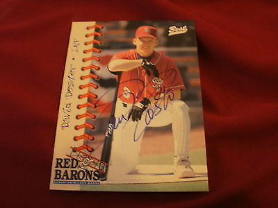 David Doster, Infield Signed Red Barons Best Baseball Cards