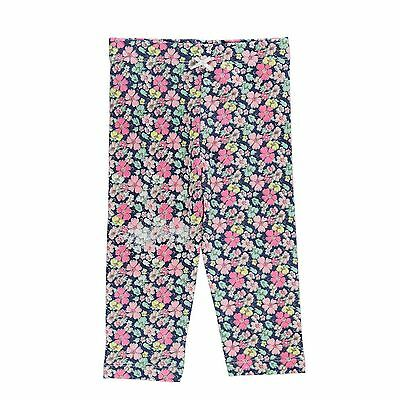 Crafted Kids AOP Leggings Pants Trousers Bottoms Infant Girls Elasticated Waist