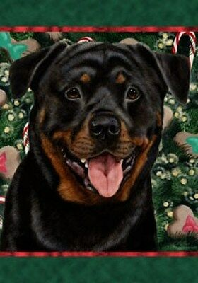 Large Indoor/Outdoor Holiday Flag - Rottweiler 14002