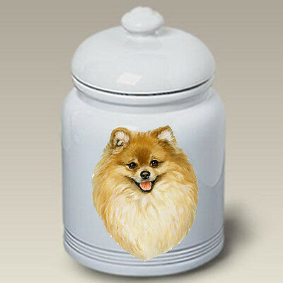Ceramic Treat Cookie Jar - Pomeranian (LP) 45013