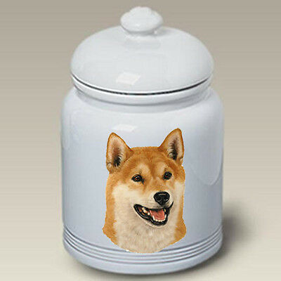 Ceramic Treat Cookie Jar - Shiba Inu (LP) 45103