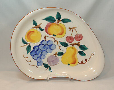 STANGL Pottery FRUIT Large Oval Platter 13 5/8 inches
