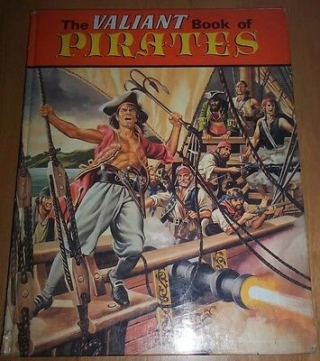 Valiant Book of Pirates (1967) Rare + sought after annual: striking art work.