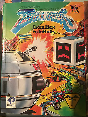 Terrahawks From Here To Infinity Story Book Gerry Anderson Purnell 1984