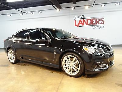 2015 Chevrolet SS Base Sedan 4-Door 6.2L V8 415 HP NAVIGATION HEATED COOLED LEATHER SUNROOF HEADS UP DISPLAY CALL