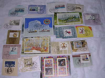 19 German Commemorative  Postage Stamps On Cards, First Day Issue, '98-2001 #29