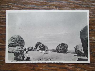 Southern Rhodesia, Grave Of Cecil Rhodes, Matopo Hills - Raphael Tuck & Sons