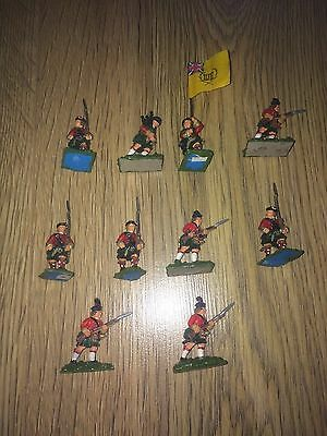 AMERICAN WAR OF INDEPENDENCE 28mm METAL FIGURE ASSORTMENT